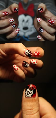 Minnie mouse.  My daughter has to have these.