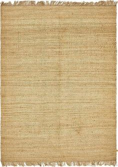 Natural Chunky Jute Area Rug