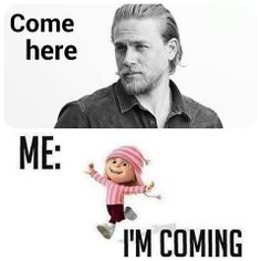 Fun with Charlie Hunnam? Sons Of Anarchy, Charlie Hunnam, Charlie Charlie, Jax Teller, Film Serie, Dream Guy, Best Shows Ever, Make Me Happy, Future Husband