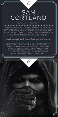 Sam Cortland - Throne of Glass - The Assasin's Blade