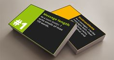 Strategy cards for role based internal communication
