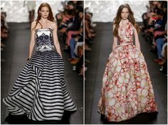 naeem khan floral dress - Google Search