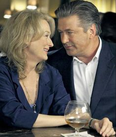 "Meryl Streep With Alec Baldwin in ""It's complicated"""