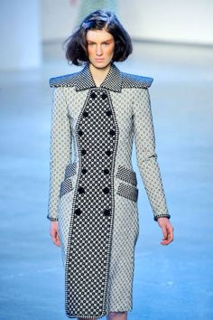 For whatever reason, I love this dress...(by Rodarte)  Top Trends From Fall 2012 - ELLE #fashion