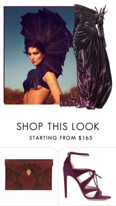 """""""plum"""" by divacrafts ❤ liked on Polyvore featuring Elie Saab, Alexander McQueen, Chloe Gosselin and Original"""