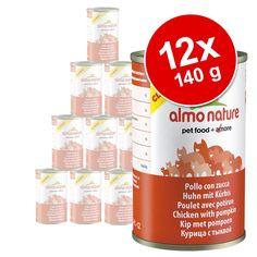 Animalerie  Lot Almo Nature Classic 12 x 140 g pour chat  thon poulet jambon
