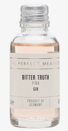 Bitter Truth Pink Gin Sample : The Whisky Exchange - T o n i c. buddy of gin - Beverage Packaging, Bottle Packaging, Print Packaging, Design Packaging, Cool Packaging, Bottle Mockup, Bottle Labels, Whisky, Skincare Packaging
