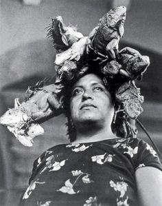 Nuestra Señora de las Iguanas, by Graciela Iturbide