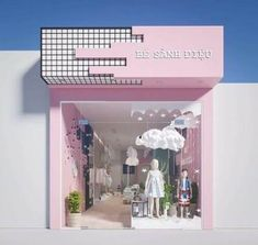 Exterior design store fronts 29 new Ideas Design Shop, Shop Front Design, Shop Interior Design, Display Design, Cafe Design, Exterior Design, Boutique Interior, Boutique Decor, Retail Store Design