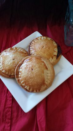 These delicious little jam hand pies are simple to make and tasty to eat!  From The Untamed Domestic Goddess