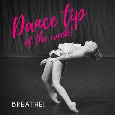 In your next challenge yourself to focus on breathing. Keeping a relaxed breath will help you keep your shoulders down, your neck long, and your lines lengthened! Dance Tips, Dance Class, To Focus, Breathe, Challenges, Concert, Shoulder, Instagram, Recital