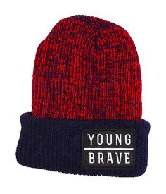 14e819929b7 youngBrave beanie. Get Up