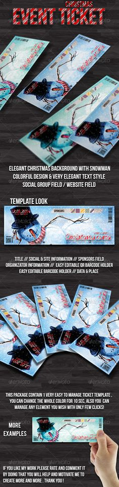 Multipurpose vintage ticket template @creativework247 Cards - create a ticket template