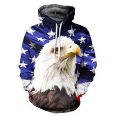 2016 Hoodies Fall/Winter Punk sweatshirt Casual Animal 3D Print lion lion head hip hop pullover men Coat street wear Sweatshirt