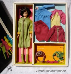 Total Braniff Barbie & Emilio Pucci ensemble,1964