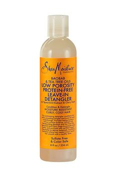The low-porosity leave-in detangler will help your comb glide through even the most stubborn tangles.SheaMoisture Low Porosity Protein-Free Leave-In Detangler, $11.99, available end of January at Sally Beauty.  #refinery29 http://www.refinery29.com/curly-hair-products#slide-3