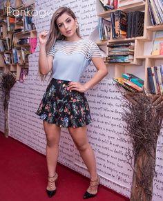 Reposição das nossas saias plissadas mais fofis! #plissado #saia #bluamusa #ootd #looklindo #modaparameninas #lovelygirlpankage