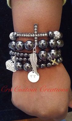 Hemalyke 5 strand bracelet set by CrisCustomCreations on Etsy, $45.00