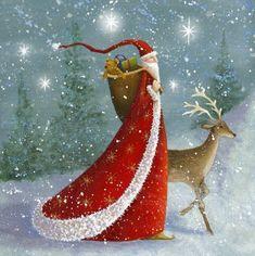 Забавные новогодне-рождественские иллюстрации Jan Pashley. Обсуждение на LiveInternet - Российский Сервис Онлайн-Дневников