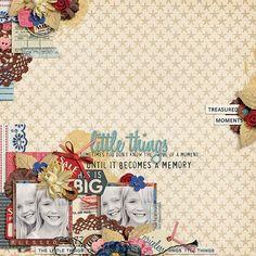 Digital Scrapbooking Kit - Little Things | ForeverJoy Designs