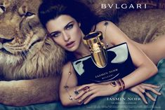 bvlgari stunning makeup ad