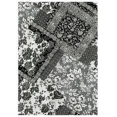 Papier Décopatch n°628 dentelle noire et blanche