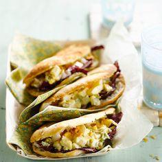Découvrez la recette Sandwich à l'oeuf dur sur cuisineactuelle.fr.
