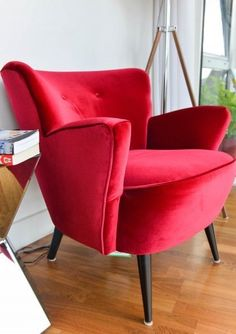 Red Reading chair