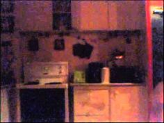 Poltergeist Activity in Kitchen.  When a Toronto resident suspected his cat of getting into the kitchen cupboards at night, he set up a camera in the kitchen to find out once and for all.  Needless to say, he was wrong about the cat, but he captured some ghostly phenomena on tape that remains to be explained.