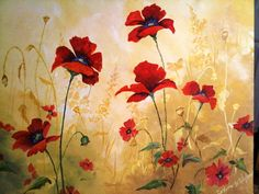 Red Poppies Canvas https://s-media-cache-ak0.pinimg.com/736x/bf/20/a3/bf20a3fd098edc5604036f8019b03bf2.jpg