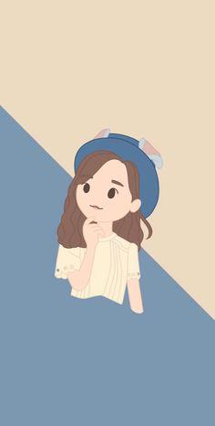(Credits to the real owner/s) Cartoon Wallpaper, Iphone Wallpaper, Social Projects, Kpop Fanart, Beautiful Sky, The Wiz, Social Platform, First Photo, Cute Cartoon