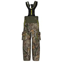 ScentBlocker Men's SpiderWeb Outfitter Bib Hunting Pants #ScentBlocker
