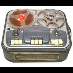 Jeg havde den fedeste spolebåndoptager på værelset, og optog musik fra radioen!