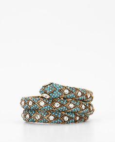 Coil Snake Bracelet
