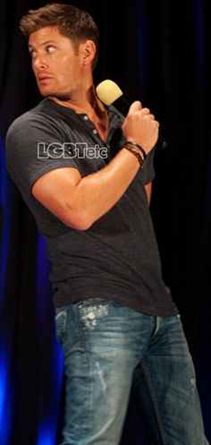 If I could marry anyone famous...it'd be Jensen Ackles. Hands down.
