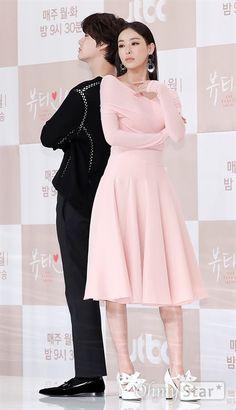 Korean Fashion Dress, Korea Fashion, Korean Outfits, Fashion Dresses, Korean Celebrities, Celebs, Pink Floral Dress, Beauty Inside, Kdrama