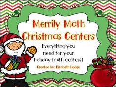 Merrily Math Christmas Centers!!