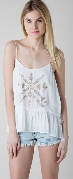Gimmicks by BKE Embroidered Tank Top - Women's Tanks/Tops | Buckle