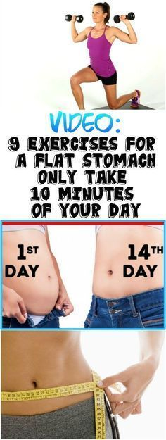 9 EXERCISES FOR A FLAT STOMACH – ONLY TAKE 10 MINUTES OF YOUR DAY (VIDEO)