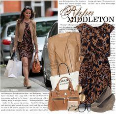 """1290. Celeb Style : Pippa Middleton (29.05.2011)"" by munarina ❤ liked on Polyvore"
