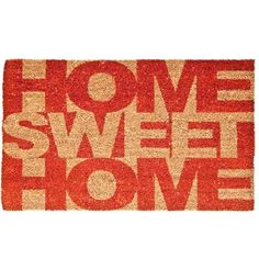 Capacho Home Sweet Home - Presentes Criativos