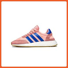 fb9d5b38243e32 adidas Womens Iniki Runner W pink haze coral blue gum Sz US6 w - Athletic  shoes