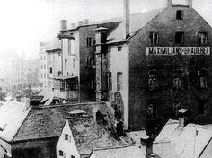 Haidhausen, Maximiliansbrewery, ca. 1890