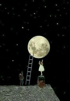 Pack up the moon and dismantle the sun You Are My Moon, To The Moon, Illustration Art, Illustrations, Good Night Moon, Moon Magic, Beautiful Moon, Moon Art, Moon Child
