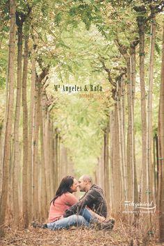 Preboda en el bosque © eric martín | © www.fotogenical.com { fotografía de boda }