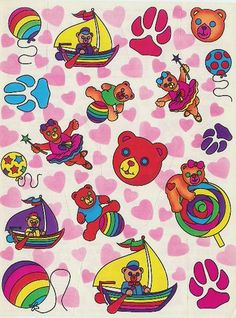 Vintage Lisa Frank Stickers