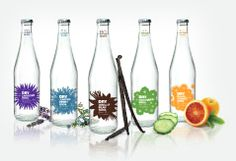 Turnstyle Graphic design. DRY Soda Brand & Packaging