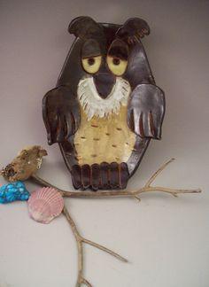 Fun Owl Incidental dish - Original design by Betsy J. Parker