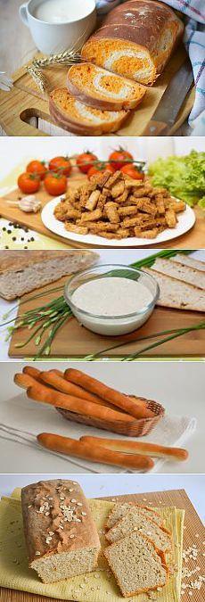 Рецепты выпечки хлеба с фото | Все Блюда