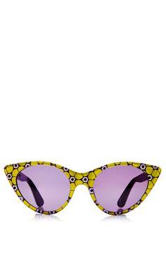 Cat-Eye Acetate Sunglasses by Opening Ceremony - Moda Operandi